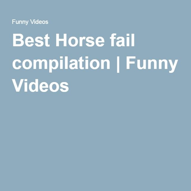 Best Horse fail compilation | Funny Videos