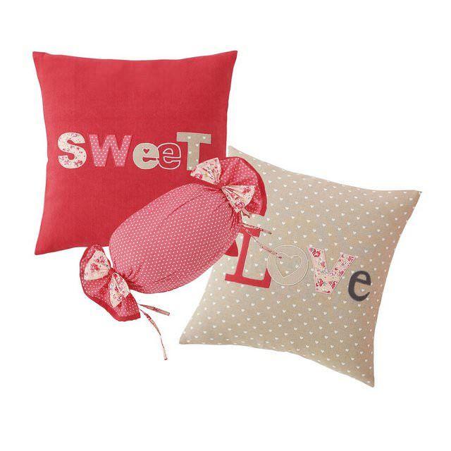 Set di 3 cuscini per bambini Sweet
