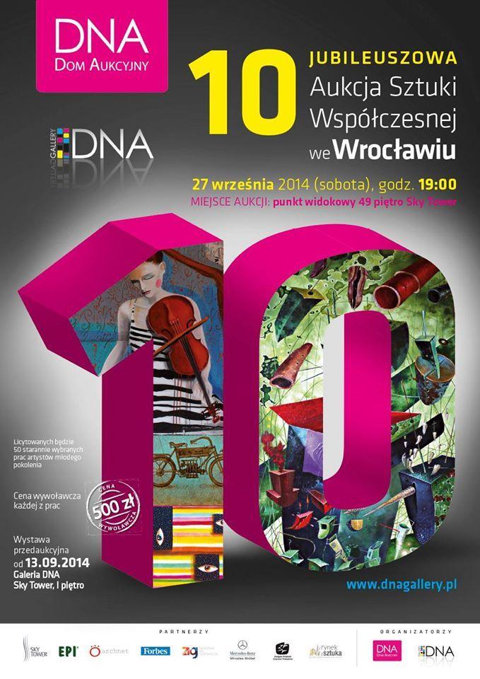 Już w sobotę 10 Jubileuszowa Aukcja Sztuki Współczesnej na najwyższym punkcie widokowym w Polsce