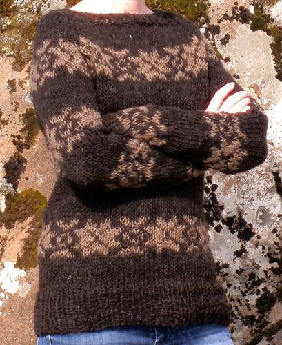 Sarah Lund Sweater. Traditional Faroese knit.