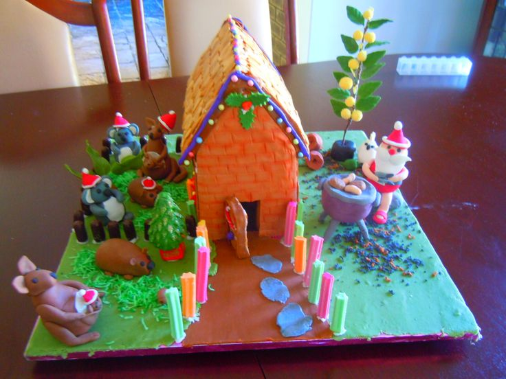 this is my aussi gingerbread house