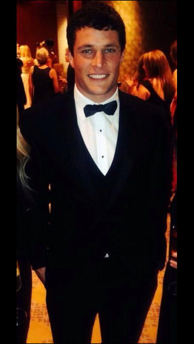 Football players can certainly fill out a tux ;)