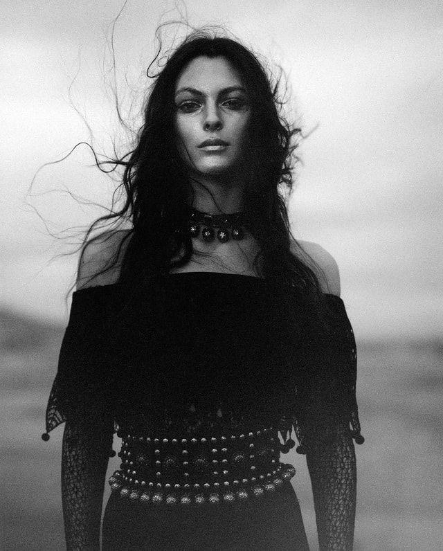 Alexander McQueen Spring-Summer 2017 Ad Campaign - Vittoria Ceretti Jamie Hawkesworth