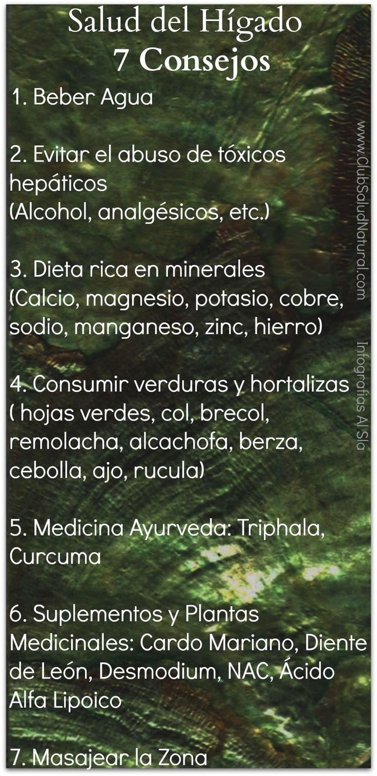 7 Formas de Mejorar la Salud del Hígado - Club Salud Natural #higado