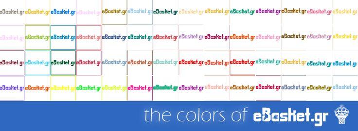 #FB cover: the colors of #eBasket #logo #creative #design #Hellas #Basketball #Greece