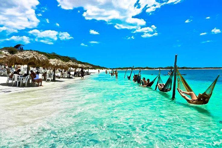 www.trippics.com | Jijoca de Jericoacoara fica no Ceará e é destino dos sonhos! Quem não quer relaxar nas redes da Lagoa Paraíso?