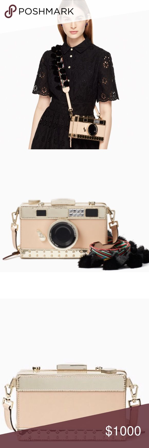 ISO Kate Spade Spice Things Up Camera Novelty BAG I am not selling this item!! I am looking to buy!! NOT the iPhone 7 case, the actual Novelty Clutch/Bag Please. This is my ISO (In Search Of). However I know the sale price was $314 so please don't tell me you have it if you want $400 or more for it!! Thanks in advance for helping me find it!😘 kate spade Bags Shoulder Bags