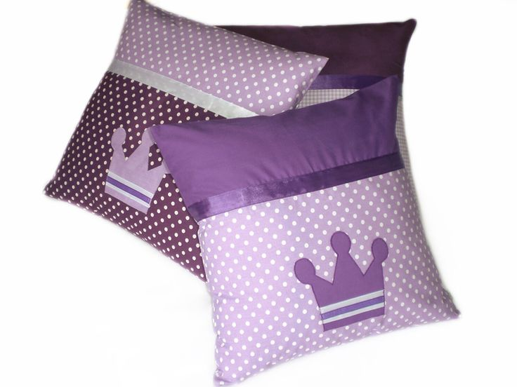 Federe per cuscino - Set di 3 Fodere di cuscino in cotone 40x40 - un prodotto unico di LutteLuud su DaWanda