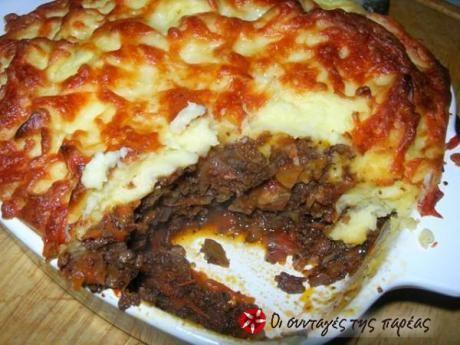 H διάσημη αγγλική συνταγή, 'πίτα του βοσκού' (shepherd's pie) δια χειρός του Σκωτσέζου σεφ Gordon Ramsay. Δυνατή και γεμάτη γεύση!! Απολαύστε!!