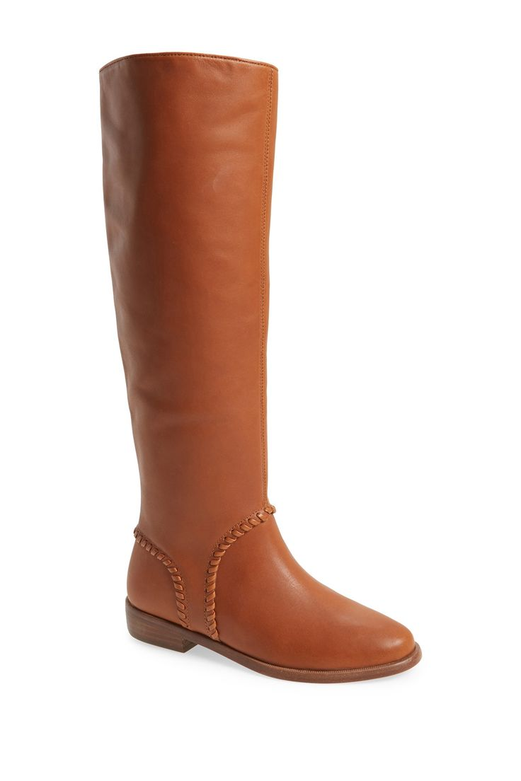 Gracen Whipstitched Leather Boot by UGG Australia on @nordstrom_rack