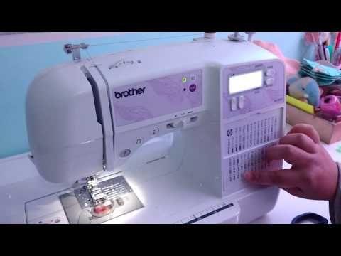 Iniciando na Máquina de Costura Brother SQ9000 - Dicas Parte 1 - YouTube