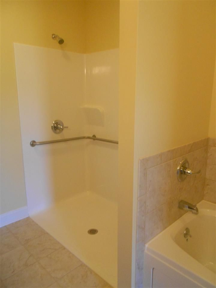 Zero Entry And Handicapped Accessible Shower In Master