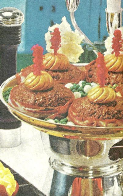 Country Club Hamburgers (Better Homes and Gardens Best Buffets, 1963)