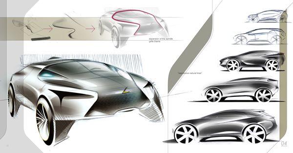 Lexus LF-Z on Behance - Young Jin Hough