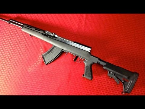 "SKS Rifle ""Sporterization"" with Choate Stock - http://fotar15.com/sks-rifle-sporterization-with-choate-stock/"