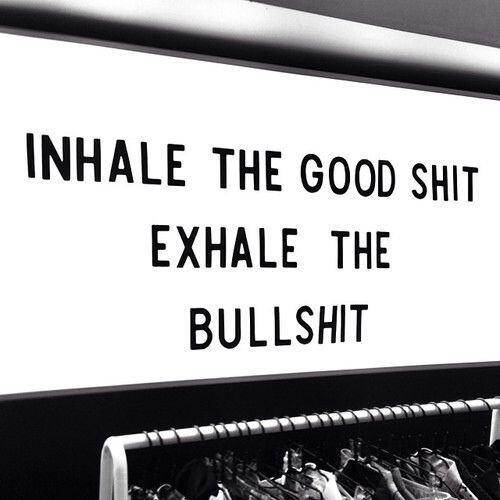 Inhale, Exhale, aaaand again: inhale, exhale aaaand again...