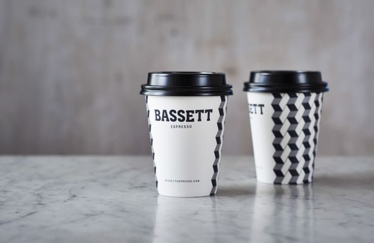 Bassett Espresso brand identity and packaging by Squad Ink