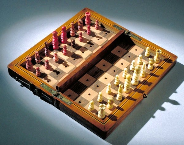 General Doubleday's chess set.