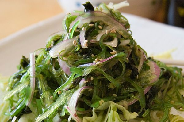 Sesame Seaweed Salad An incredibly easy version of the traditional wakame salad.