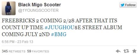 Release Date  Gucci Mane   Young Scooter – Freebricks 2   Atrilli