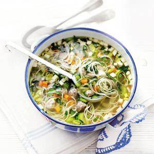 Recept - Extra gevulde groentesoep - Allerhande