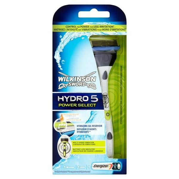 Take control with Hydro 5 Power Select! It's the only wet power razor with 3 levels of vibration so that you can customise your shave to suit your skin.  The water activated gel reservoir is designed to protect skin and delivers 40% less friction than a lubrication strip. #skin #skincare #grooming