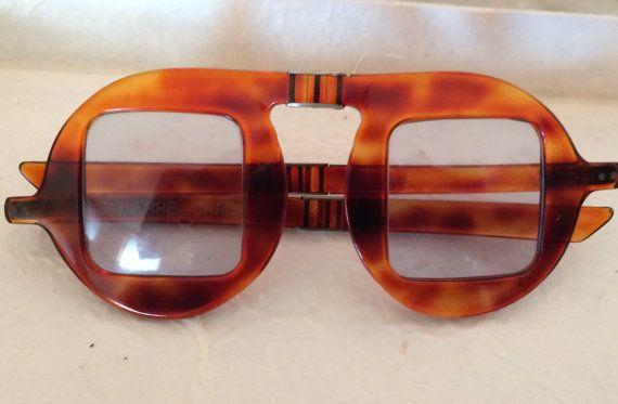 Rarissimi PIERRE CARDIN anni 70 occhiali da sole vintage pieghevoli, unisex ,1970, nuovi