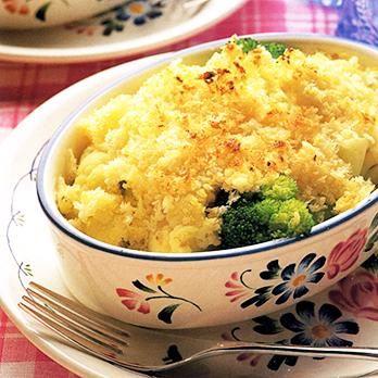 カリフラワーのガーリックグラタン | 川村由紀子さんのグラタン・ドリアの料理レシピ | プロの簡単料理レシピはレタスクラブネット