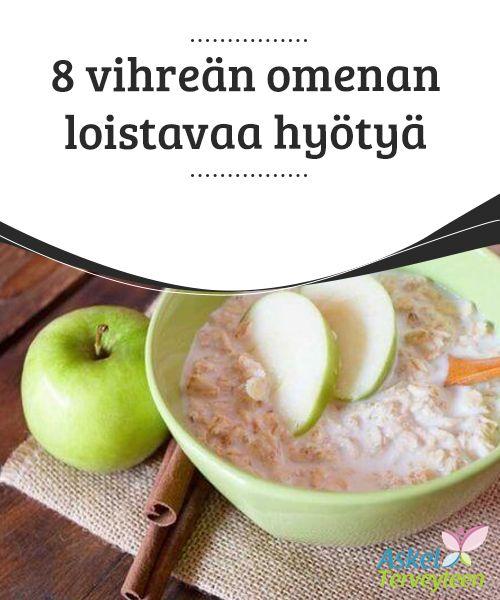 8 vihreän omenan loistavaa hyötyä   Vihreät omenat ovat loistavia myös #sellaisilla tavoilla, jotka muilta #omenatyypeiltä #puuttuvat.  #Terveellisetelämäntavat