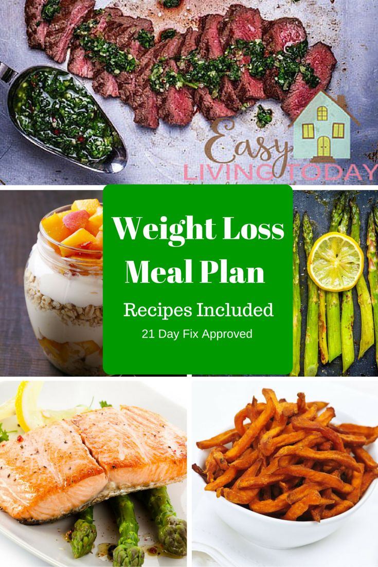 Healthy Weight Loss Meal Plan | Read more, Picky eaters ...