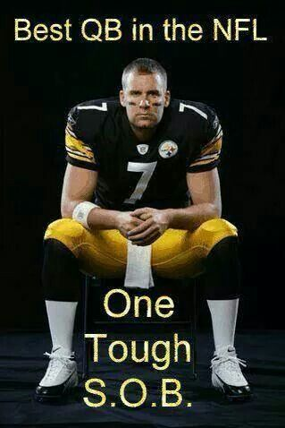 My Favorite Quarterback!! Big Ben Roethlisberger, 2-time Super Bowl winning QB, Pittsburgh Steelers