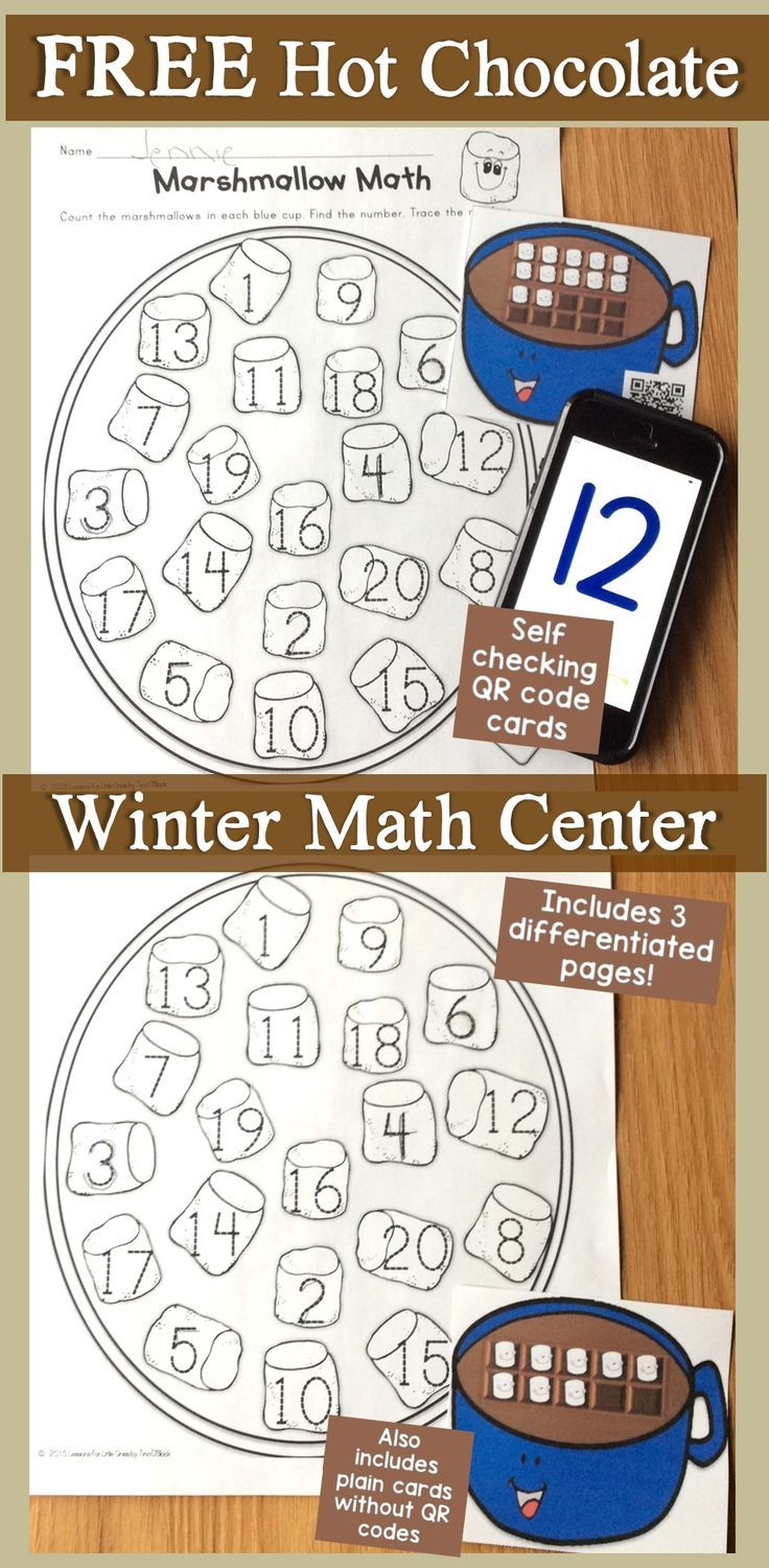 Practice numbers to 20, number sense, and counting skills this winter with differentiated ten frame task cards & pages that can be used as a small group activity, center activity, or an around the room (write the room, SCOOT) activity.