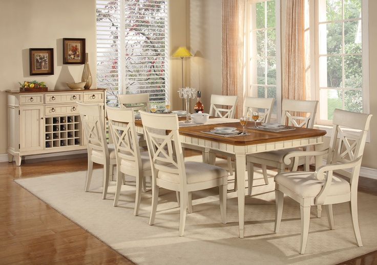 Garden Walk Dining: Wynwood Garden Walk Rectangular Dining Table