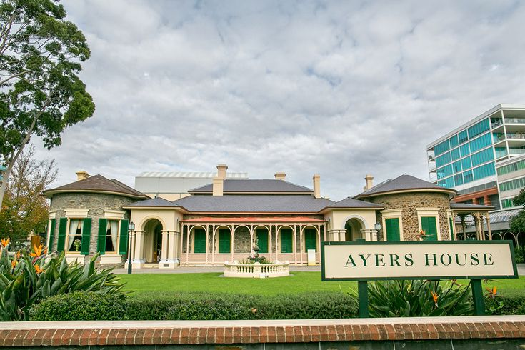 Ayers House Adelaide wedding front view www.scottgohphotography.com.au