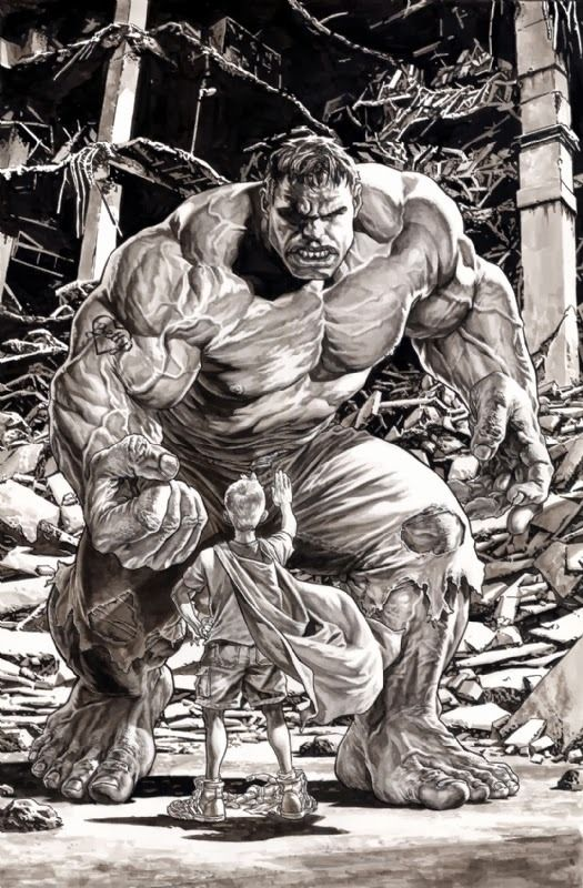 • El famoso Lee Bermejo artista del Comic •