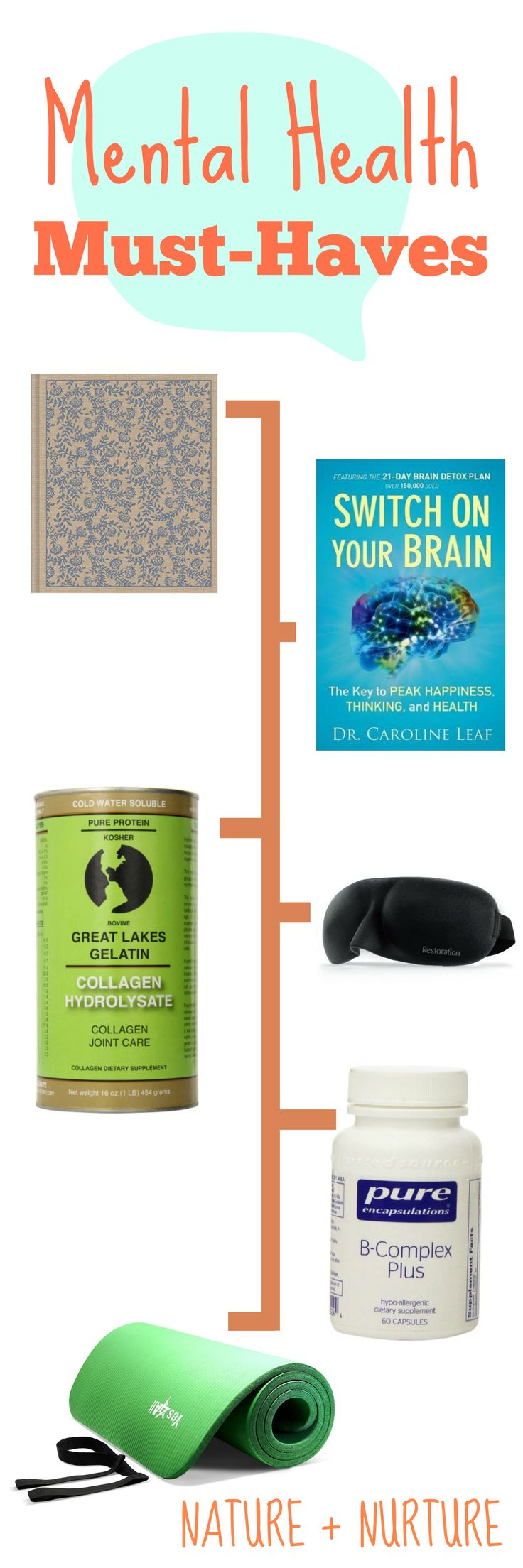 Here are some of the best tools and natural remedies  for mental health that I've come across in my journey. Click to learn more and start feeling better!