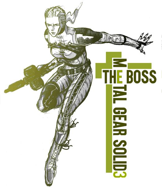 The Boss - Metal Gear Solid 3: Snake Eater