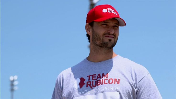 Team Rubicon is a volunteer disaster response group who help victims around the world. Co-founder and former University of Wisconsin football player Jake Wood details the group's mission to assist victims and their own military volunteers.