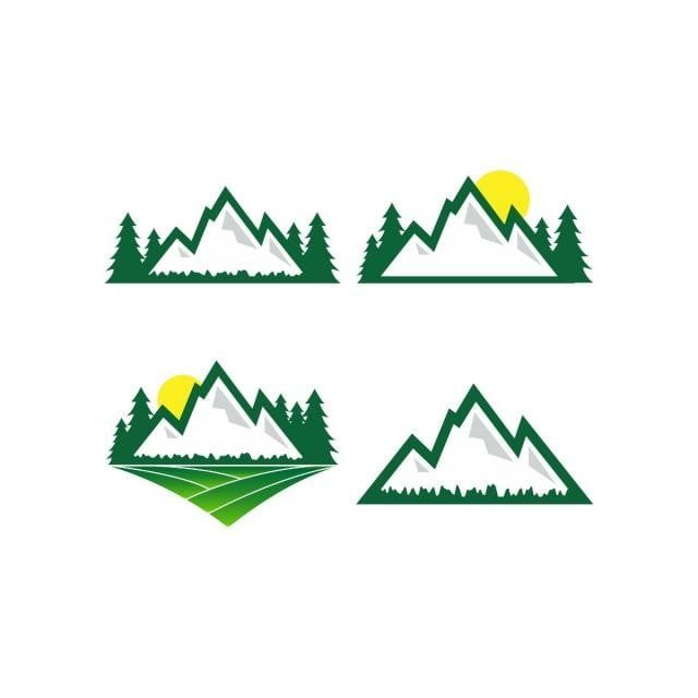Mountain Nature Logo Design Template Mountain Clipart Logo Icons Mountain Icons Png And Vector With Transparent Background For Free Download Nature Logo Design Logo Design Template Natural Logo