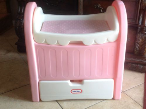 Doll bed with drawer by little tikes