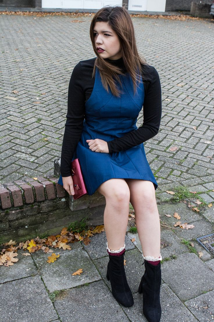 Red and Blue   #fashion #women #style #trend
