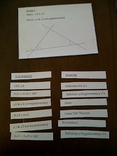 Hands on Math in High School: Made4Math Geometry Proofs