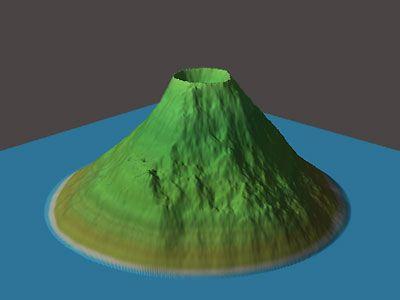 Making Volcanoes on World Machine