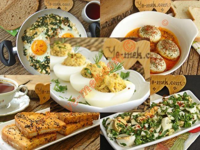 Yumurtalı Kahvaltılık Tarifler Resimli Tarifi - Yemek Tarifleri