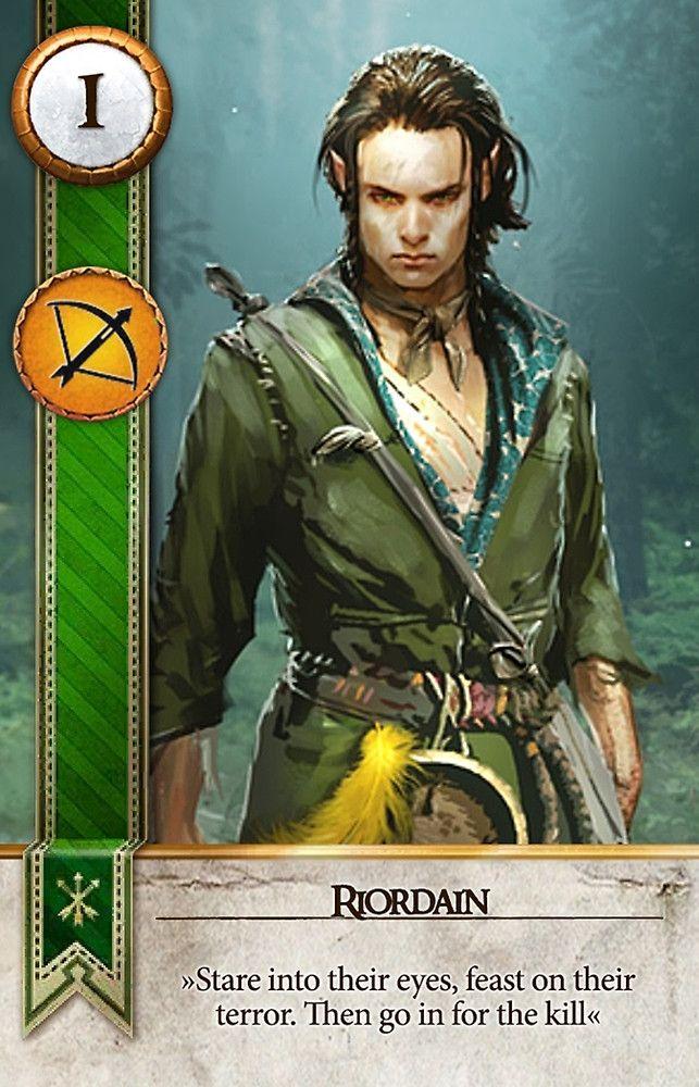 Riordain (Gwent Card) - The Witcher 3: Wild Hunt