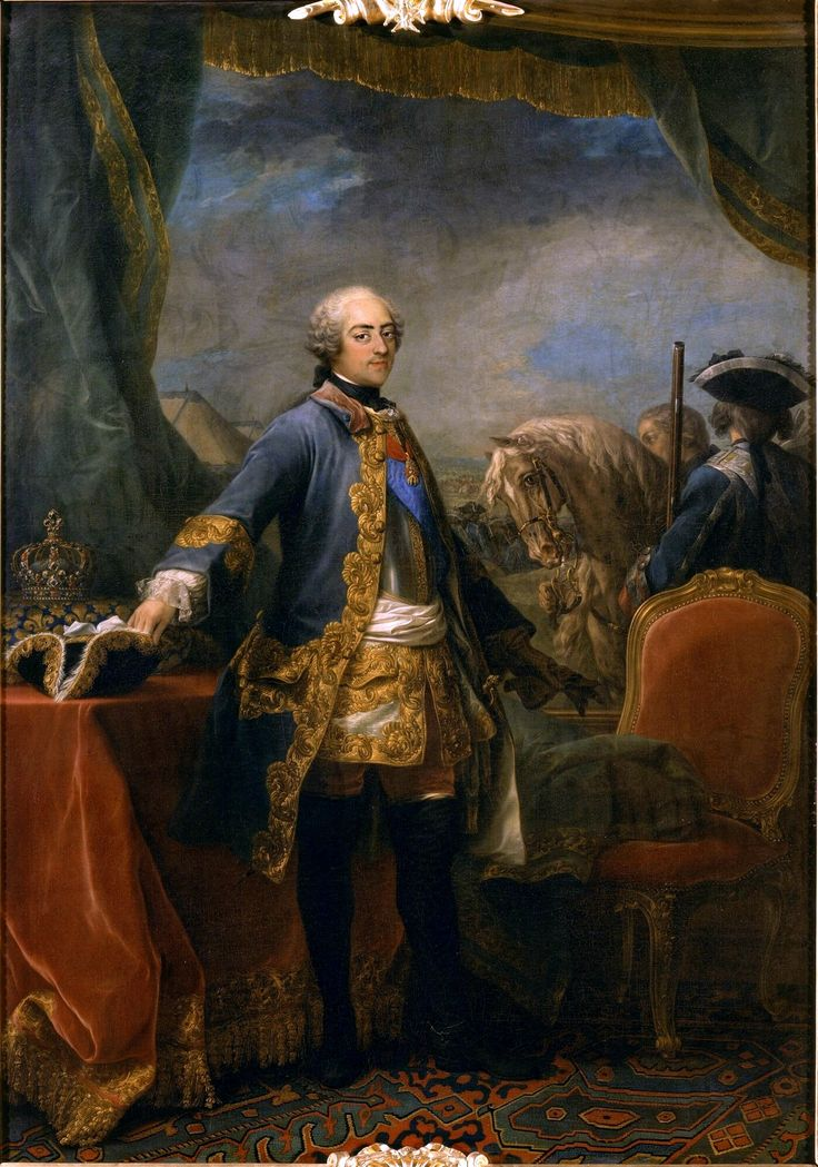 Portrait Of Louis XV, King Of France