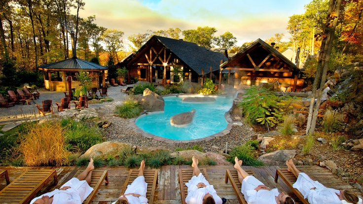 Le Nordik Spa...one of my most favourite places! Sooooo beautiful and relaxing :)