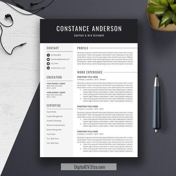80 best resume & folio inspiration images on Pinterest | Resume ...