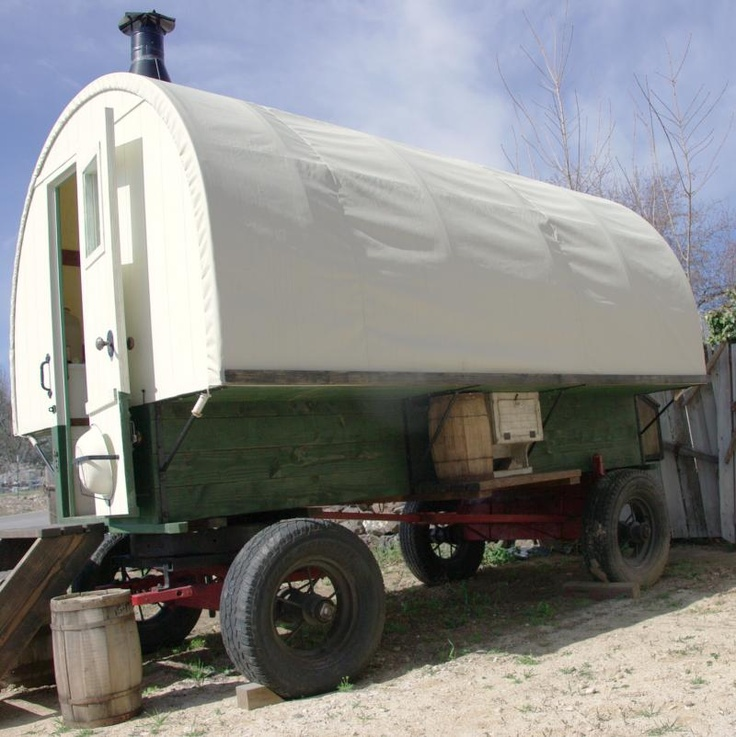 19 best images about gone outdoors gypsy on pinterest affordable housing a wing and gypsy wagon - The mobile shepherds wagon ...