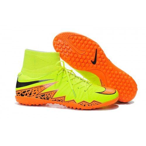 Offerte Completi Calcio Nike Hypervenom Phelon II TF Uomo Fluorescent  Verdes Arancione